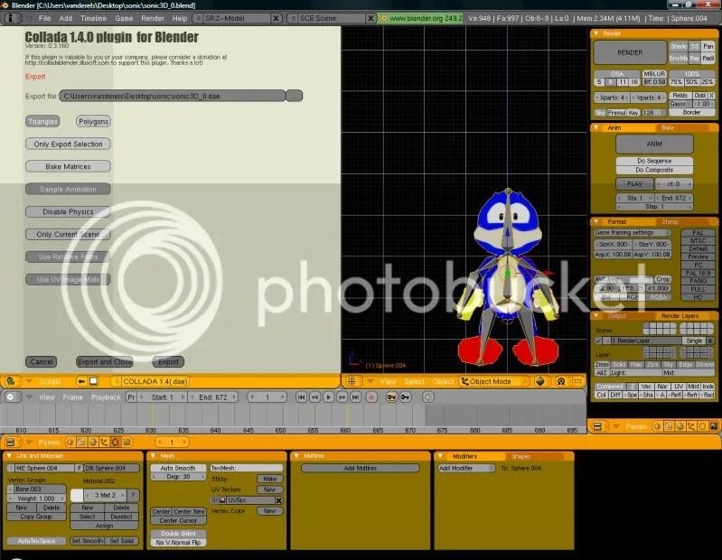 Tuto Sonic Blender