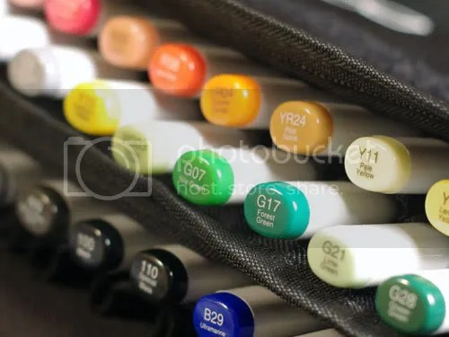 Copic markers are now available at JournalingArts.com.