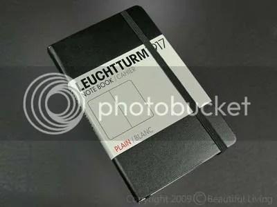 The Leuchtturm Large Plain journal has classic good looks and acid-free design.