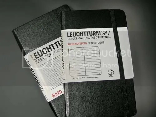 Leuchtturm Journals, Old and New.