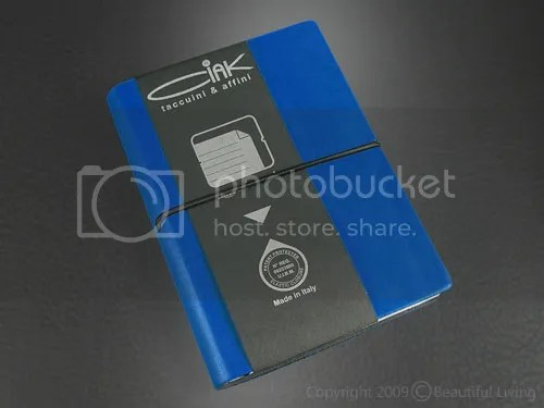 The Ciak pocket, ruled notebook.