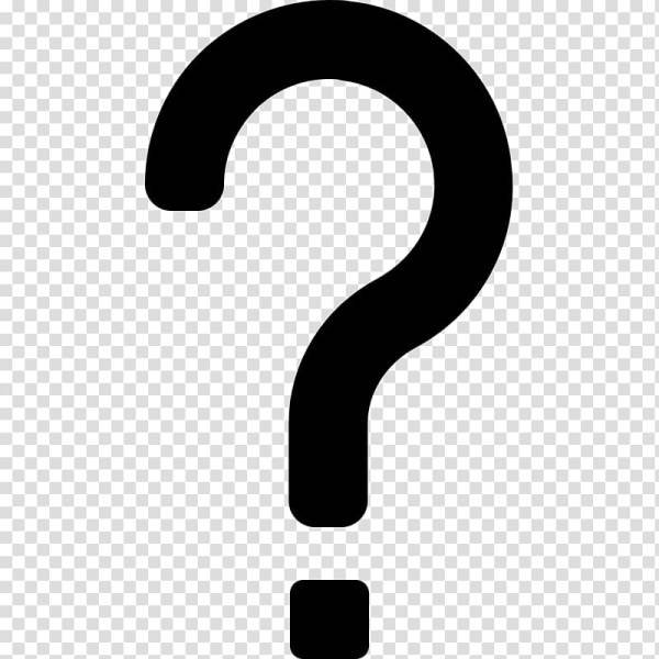 Computer Icons Question mark Symbol , question mark face ...