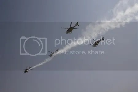 Sarang Helo Demonstration Team