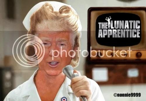 nurse ratched the apprentice tv set
