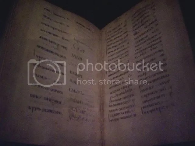 Gospelbook missing the last 12 verses of Mark