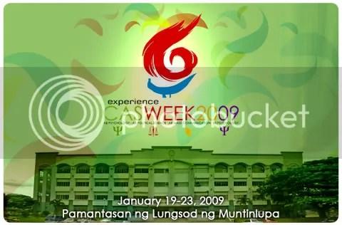Experience CAS Week 2009