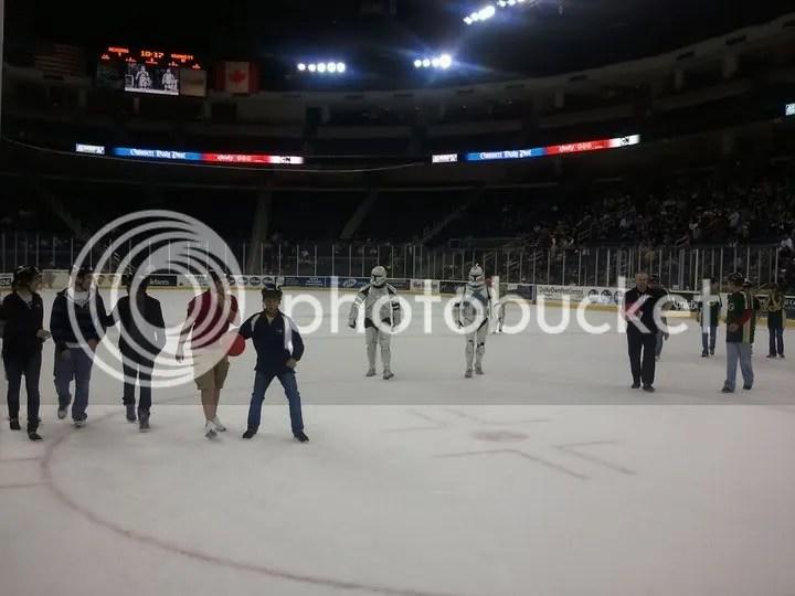 Georgia Garrison on ice!