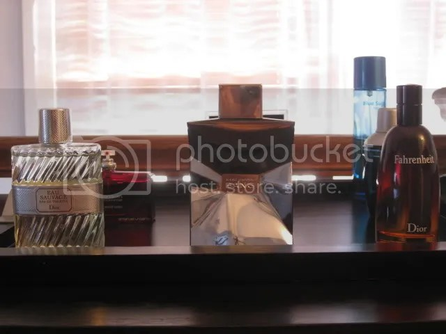 My cologne collection