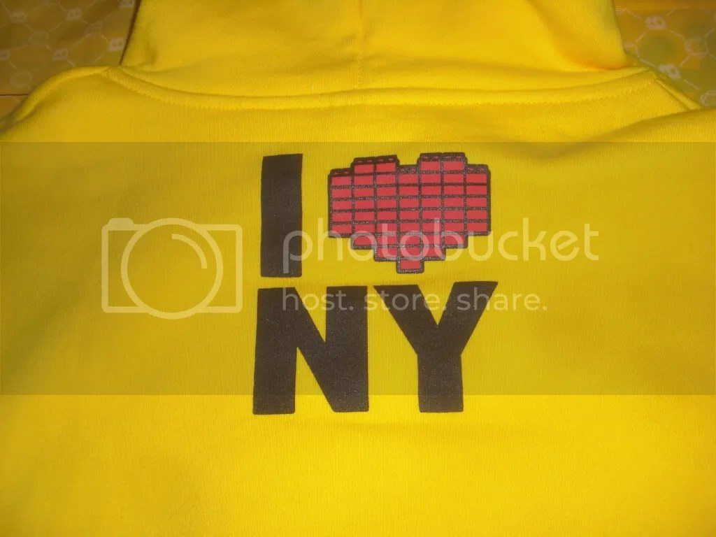 BANC I Love NY Design Back