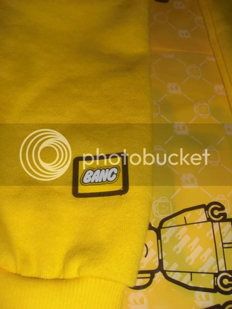 BANC I Love NY Sleeve Logo