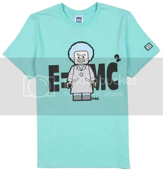 BANC mint Einstein t-shirt