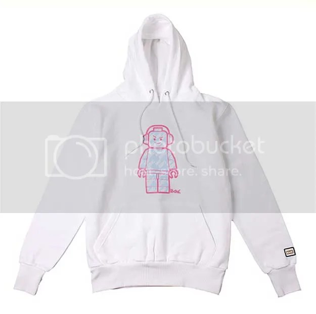 BANC white Headphone Hoodie