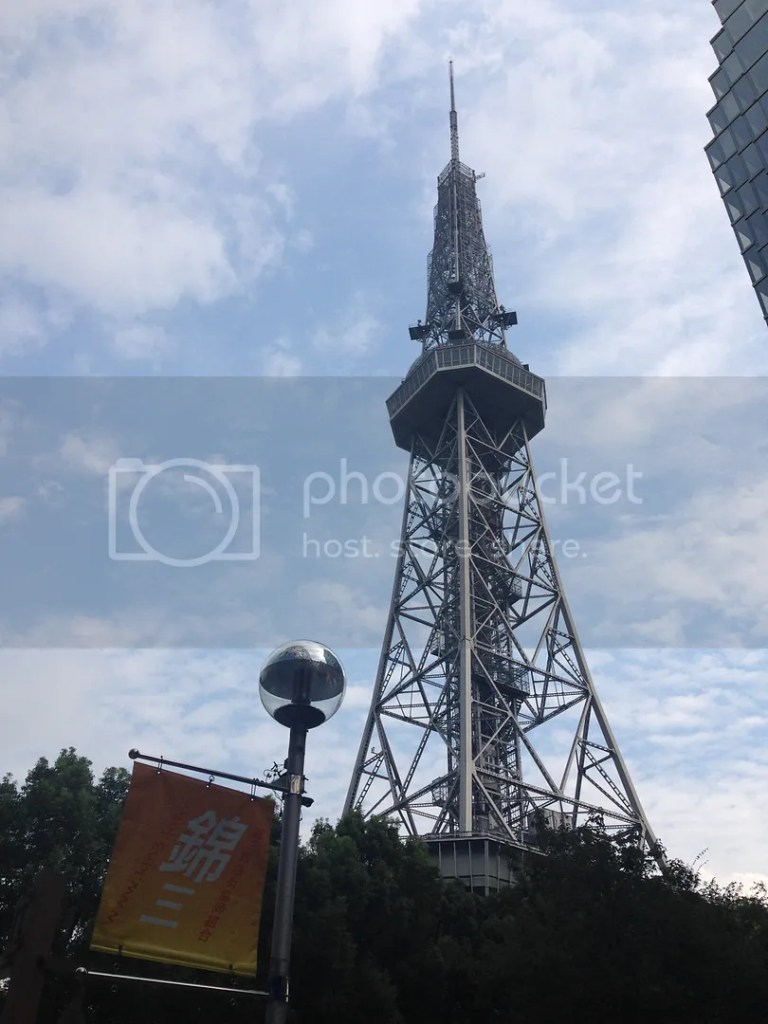 Greeted by this beautiful image of Nagoya TV Tower! It's just walking distance from my hotel.