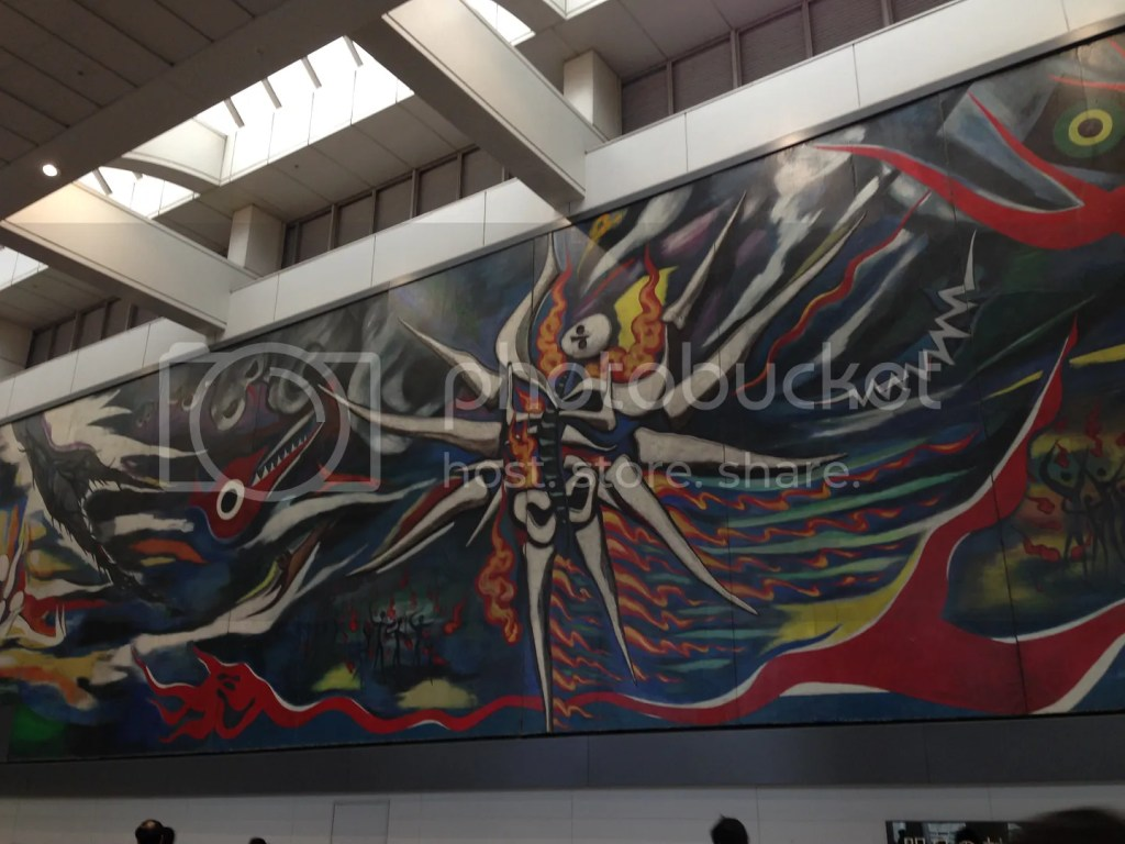 In Shibuya Station, you will get to see this epic masterpiece.