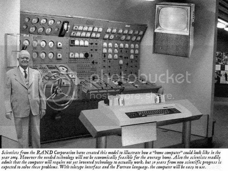 The computer of the 2004 as imagined in 1954