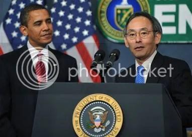 obama and chu