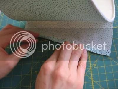 fold edge under