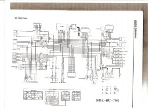 86 Honda Trx 250 Wiring Diagram  Wiring Diagram and Schematic