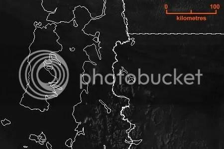 http://wwww.smn.gov.ar - Servicio Meteorológico Nacional - Imagén de satélite Visible Goes-12 en alta resolución