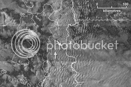 Servicio Meteorológico Nacional - Imagen de satélite Visible Goes-12 en alta resolución