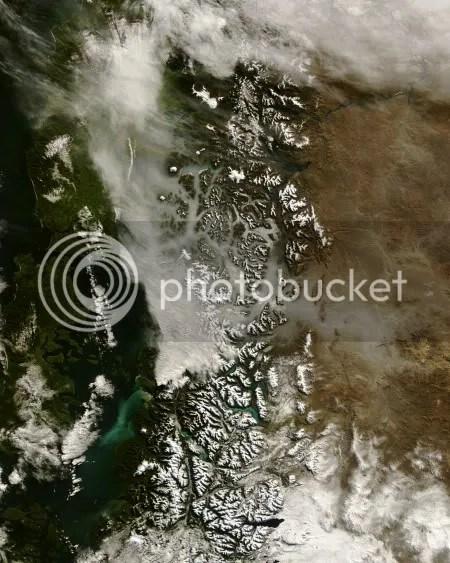 Terra satellite image, 26 May 2008 (NASA)