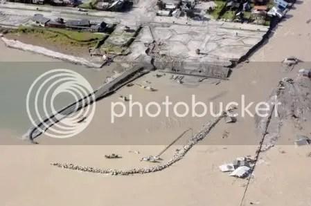 Chaitén flooded.