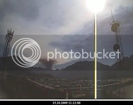 Chaiten volcano, 15 October 2009, 11:12