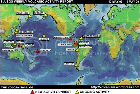 SI/USGS Weekly Volcanic Activity Report 13-19 May 2009