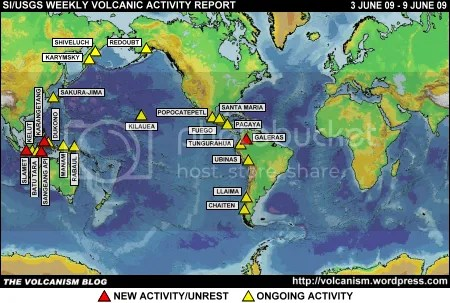 SI/USGS Weekly Volcanic Activity Report 3-9 June 2009