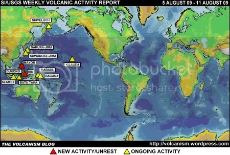 SI/USGS Weekly Volcanic Activity Report 5-11 August 2009