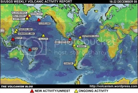 SI/USGS Weekly Volcanic Activity Report 16-22 December 2009