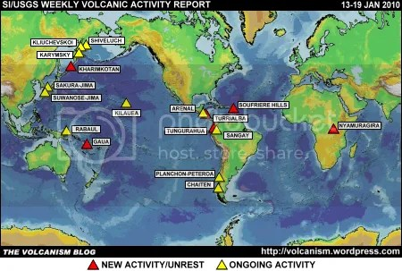 SI/USGS Weekly Volcanic Activity Report 13-19 January 2010