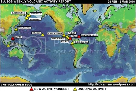SI/USGS Weekly Volcanic Activity Report 24 February-2 March 2010