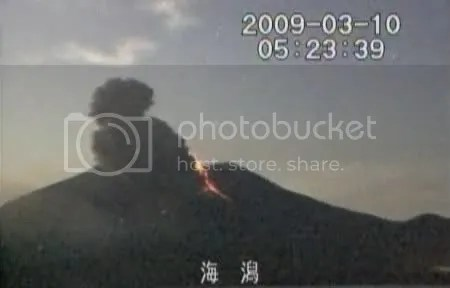 Sakura-jima 10 March 2009 (3)