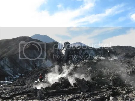 Llaima volcano, 11 April 2009 (copyright Prof. Marco Millar)
