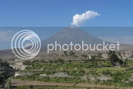 El Misti volcano, Arequipa, Peru, 29 April 2007