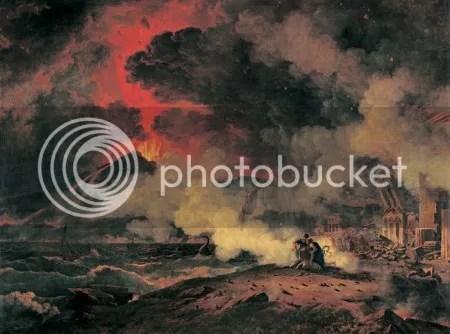 Pierre-Henri de Valenciennes, 'Eruption of Vesuvius' (1813)