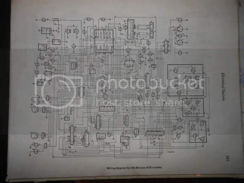 Need A Wiring Diagram Hx Z Kingswood