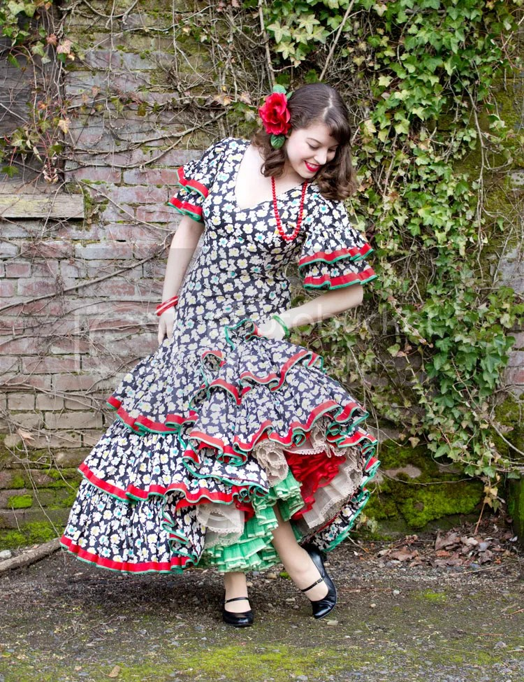 Vintage Flamenco Dresses