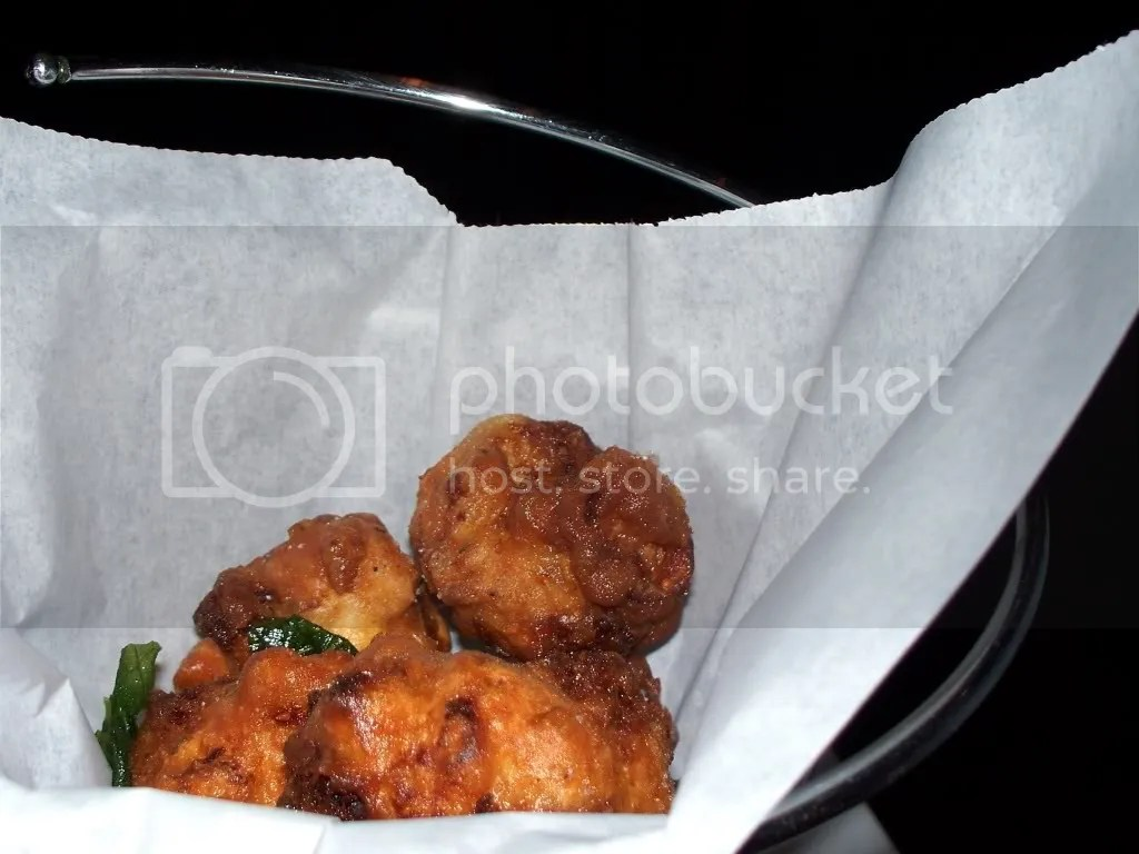 These hush puppies make for an upscale finger food!