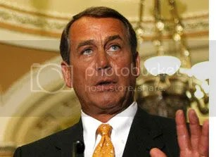 Freshman GOP leader John Boehner