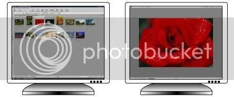 Exibição em dois monitores
