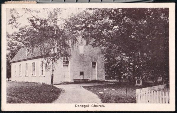 MOUNT JOY PA Presbyterian Donegal Church Vintage B&W ...