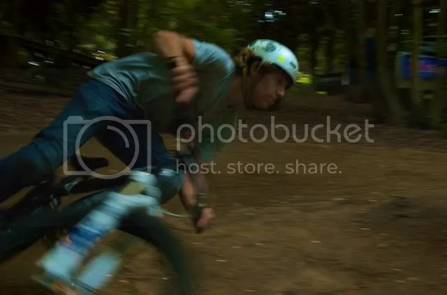 Me ripping round the pumptrack