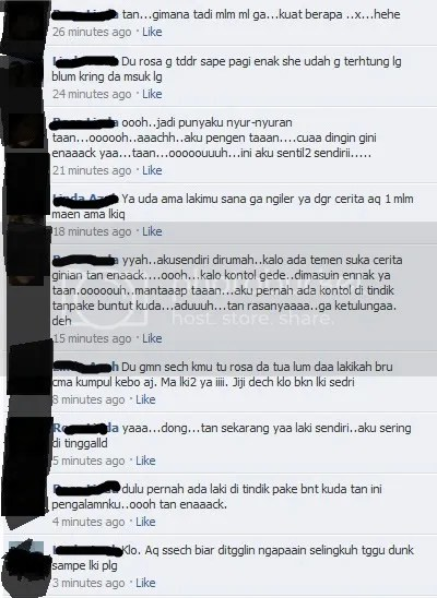 Percakapan di FB