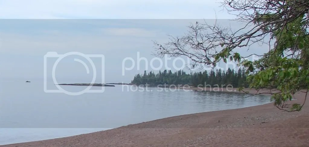 Rock Beach North of Grand Marais (2009-06-21)