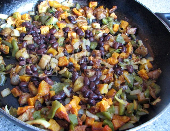 Butternut Squash and Potato Hash