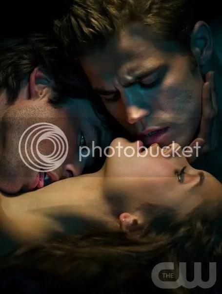 Elena, Stefan, and Damon