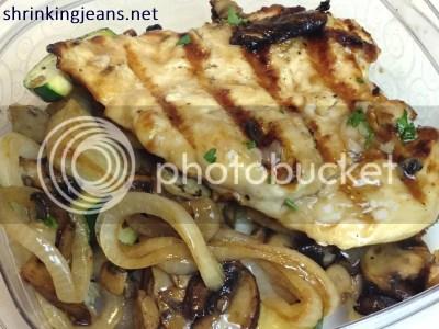 Applebee's Napa Chicken & Portobellos