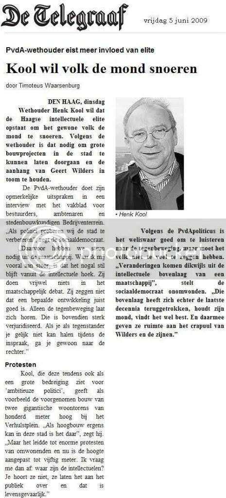 Telegraaf 05.06.09